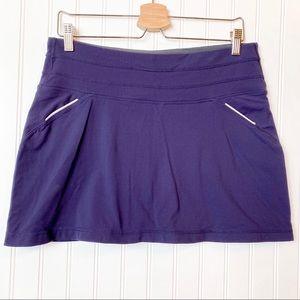 ATHLETA Relay purple athletic skort medium